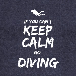IF YOU CAN NOT KEEP CALM GO DIVING - Women's Boat Neck Long Sleeve Top