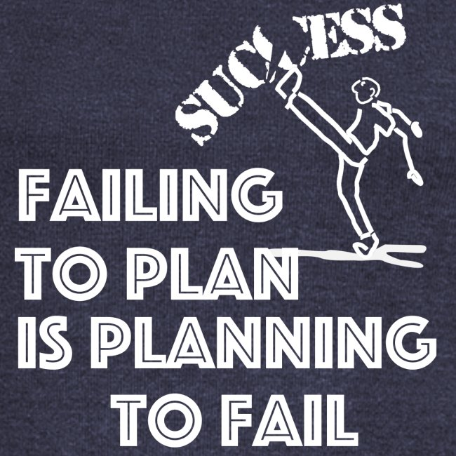 Designed T-Shirt failing to plan brings to fail