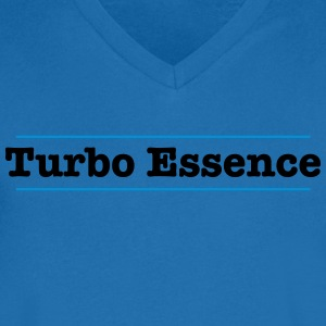 Turbo Essence - Mannen T-shirt met V-hals