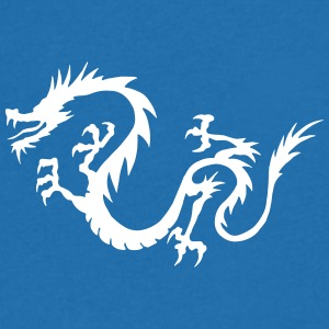 Chinese Dragon - Men's V-Neck T-Shirt