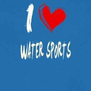 I love water sports - Men's V-Neck T-Shirt