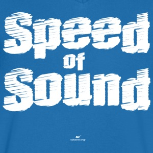 Speed ​​of Sound - T-shirt med v-ringning herr