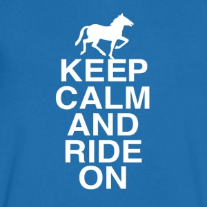 Just RIDING - Men's V-Neck T-Shirt