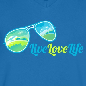 La vie en direct amour - T-shirt Homme col V