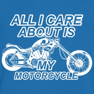 Motorcycle lovers hobby - Men's V-Neck T-Shirt