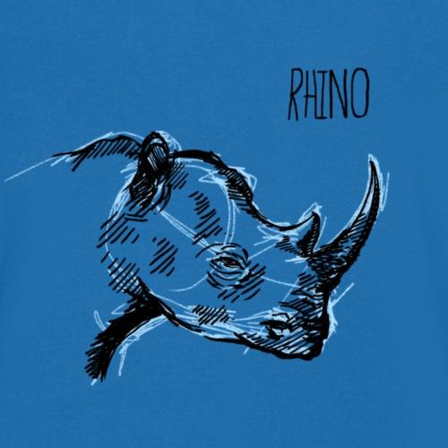 Rinoceronte - Camiseta ecológica hombre con cuello de pico de Stanley & Stella