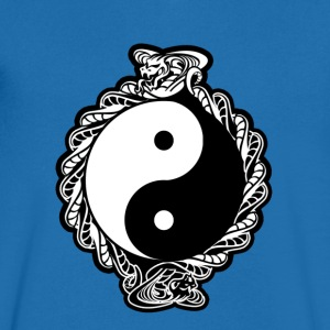 YING-YANG COBRA SPIRIT COLOR VERSION - T-shirt Homme col V