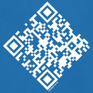 QR Code - Marriage Proposal - Will you Marry Me? - Men's V-Neck T-Shirt