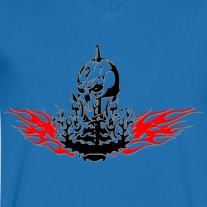 Ghost from the fire - Men's V-Neck T-Shirt
