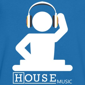 House Music - T-shirt Homme col V