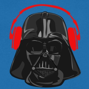 Vader Headset red - Men's V-Neck T-Shirt