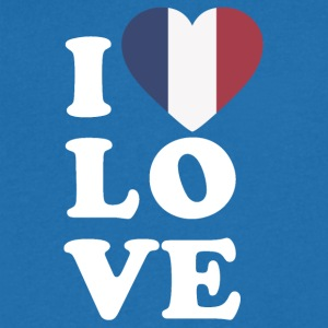 I love France - T-shirt Homme col V