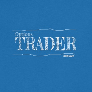 Options Trader - T-shirt med v-ringning herr