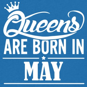 Queen May Birthday - Men's V-Neck T-Shirt