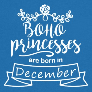 Boho Princesses are born in December - Men's V-Neck T-Shirt
