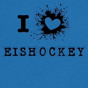 iLove Hockey - Men's V-Neck T-Shirt