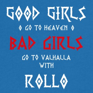 Bad Girls with Roll vol.2 - Men's V-Neck T-Shirt
