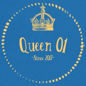 Queen 01 - Men's V-Neck T-Shirt