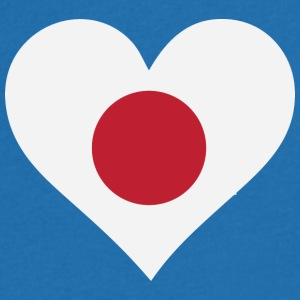 A Heart For Japan - Men's V-Neck T-Shirt