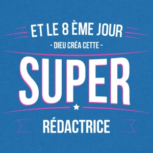 Redactrice dieu crea cette Redactrice - T-shirt Homme col V