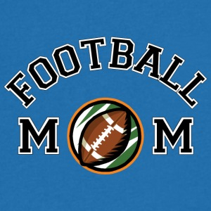 Football Mom - Men's V-Neck T-Shirt