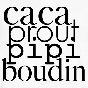 Caca prout pipi boudin - Men's V-Neck T-Shirt