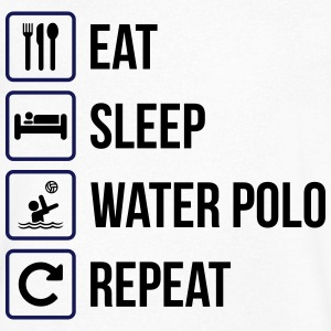 Eat Sleep Water Polo Repeat - Men's V-Neck T-Shirt