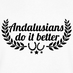 Andalusians - Andalusian - Men's V-Neck T-Shirt
