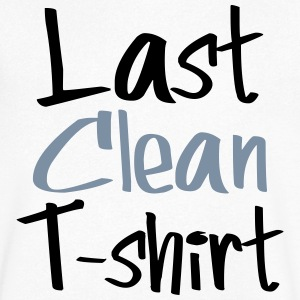 Last clean t-shirt - Men's V-Neck T-Shirt