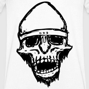 Warrior Skull - Men's V-Neck T-Shirt