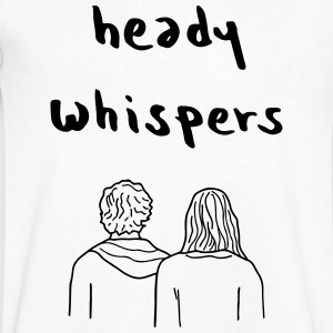 Heady WHISPERS EP - Mannen T-shirt met V-hals