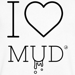 I love Mud - Men's V-Neck T-Shirt