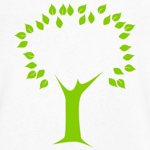 tree - Men's V-Neck T-Shirt