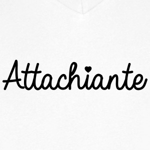 Attachiante - T-shirt Homme col V