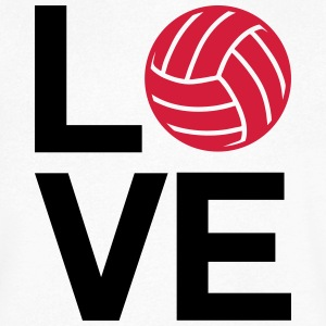 love volleyball - T-shirt Homme col V