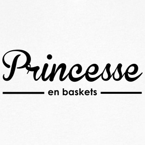 Princesse en baskets - T-shirt Homme col V