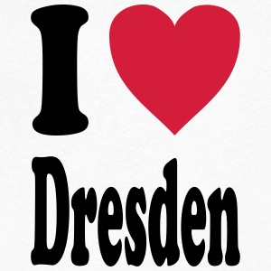 I love Dresden - Men's V-Neck T-Shirt