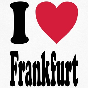 I love Frankfurt - Men's V-Neck T-Shirt