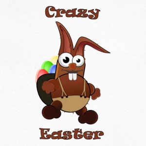 Easter crazy - Men's V-Neck T-Shirt