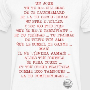 L eveil (version text uniquement) - T-shirt Homme col V