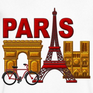 Paris, France, World City - Men's V-Neck T-Shirt