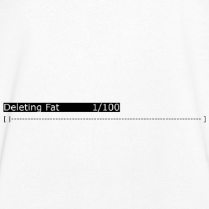 Deleting Fat: Gym, Workout, Fitness - Men's V-Neck T-Shirt
