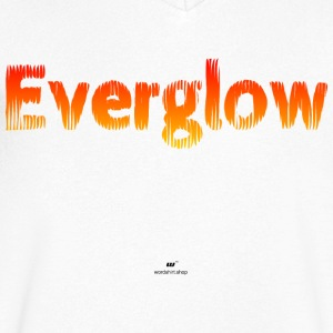 Everglow - Men's V-Neck T-Shirt