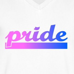 Simply Pride - Men's V-Neck T-Shirt