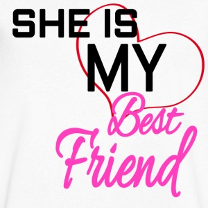 BestFriend - T-shirt Homme col V