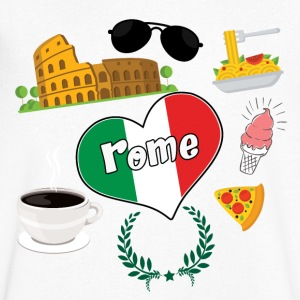 I love Rome 2 - Men's V-Neck T-Shirt