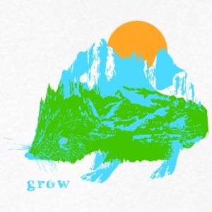 grow - Men's V-Neck T-Shirt