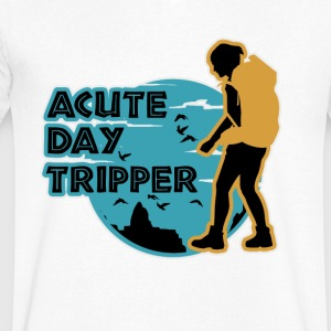 Acute day tripper - Men's V-Neck T-Shirt