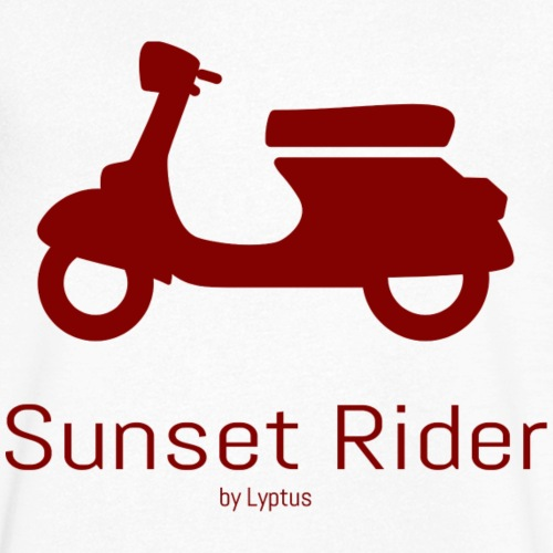 Sunset Rider - Men's Organic V-Neck T-Shirt by Stanley & Stella