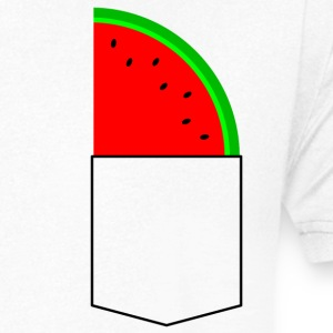 watermelon - Men's V-Neck T-Shirt